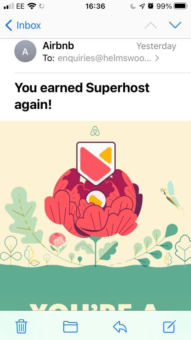 Superhosts again!